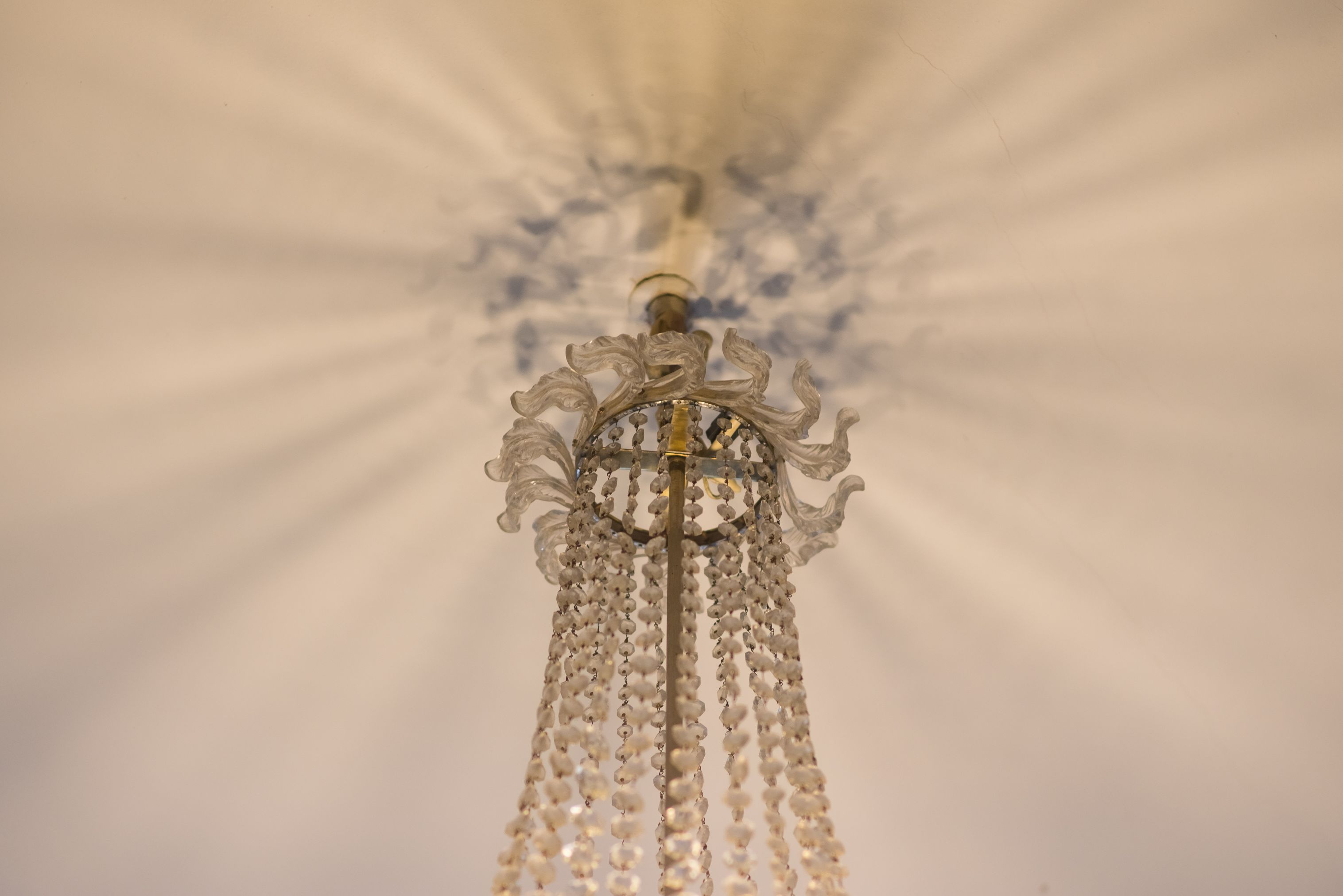 Fragment of chandelier, 1910–1929, Archdiocese of Vilnius. Photo by Povilas Jarmala, 2017