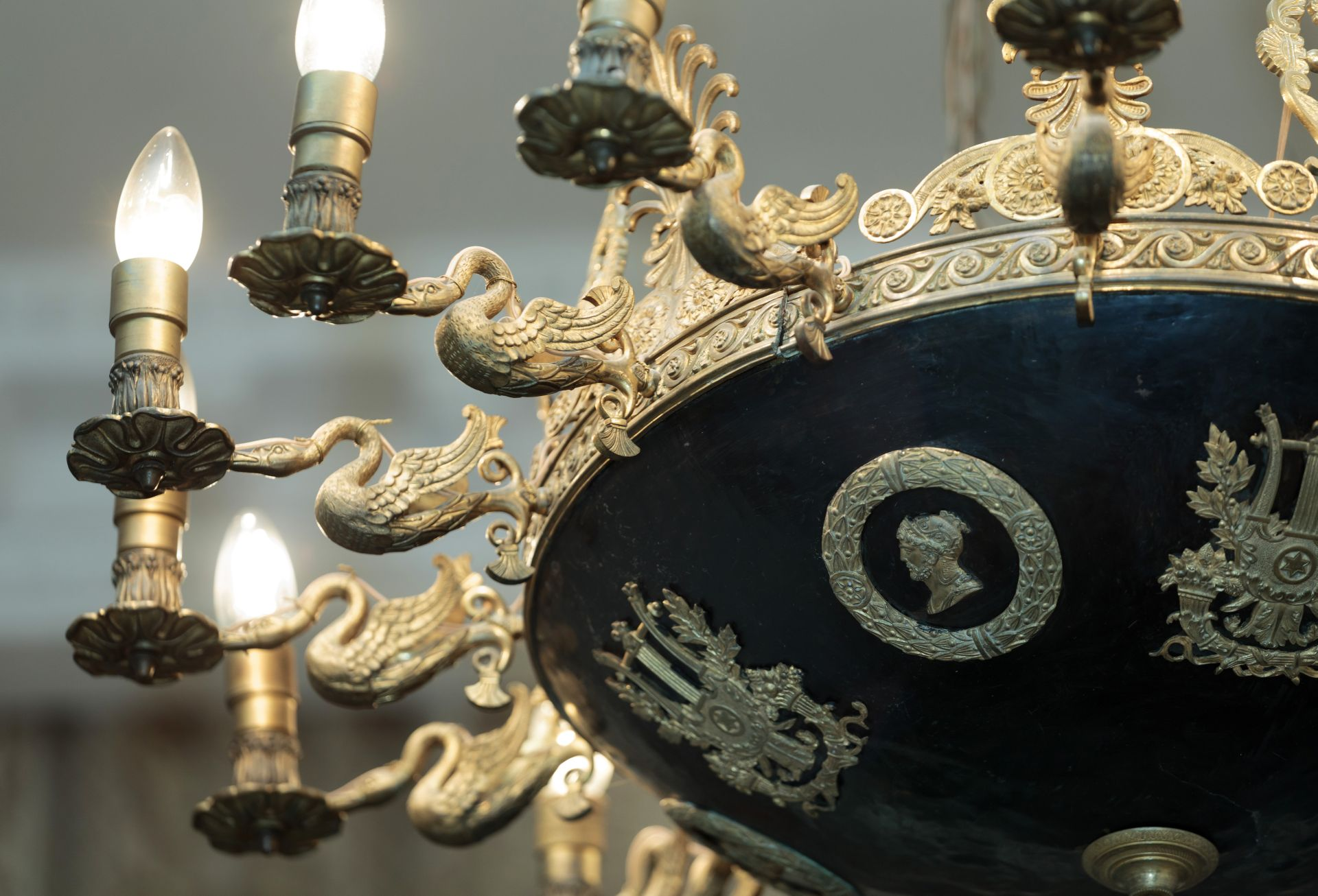 Fragment of chandelier, 1800–1829, Lithuanian Art Museum, TM-658. Photo by Tomas Kapočius, 2017