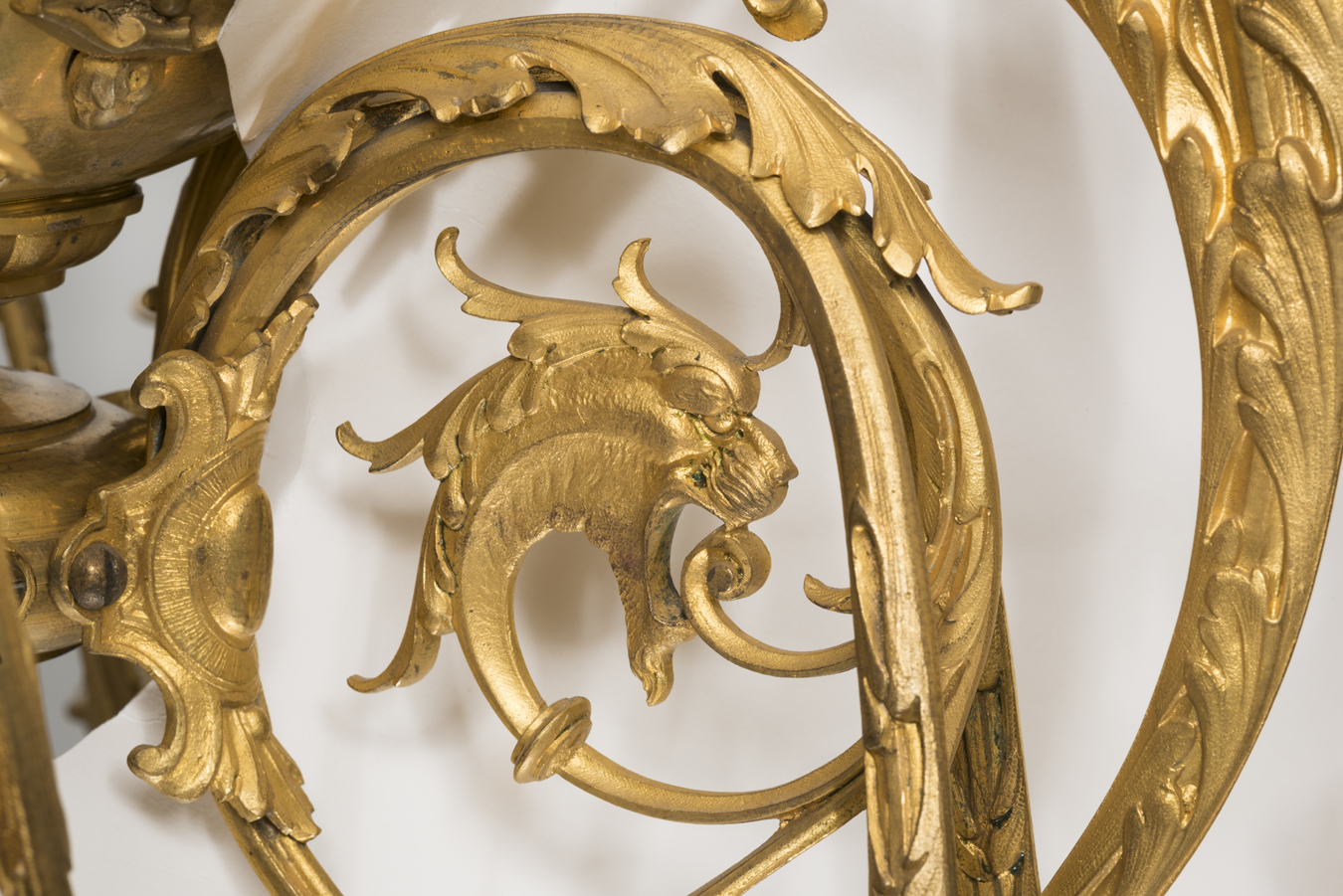 Fragment of chandelier, 1887–1911, National Museum of Lithuania, IM-5102. Photo by Kęstutis Stoškus, 2019