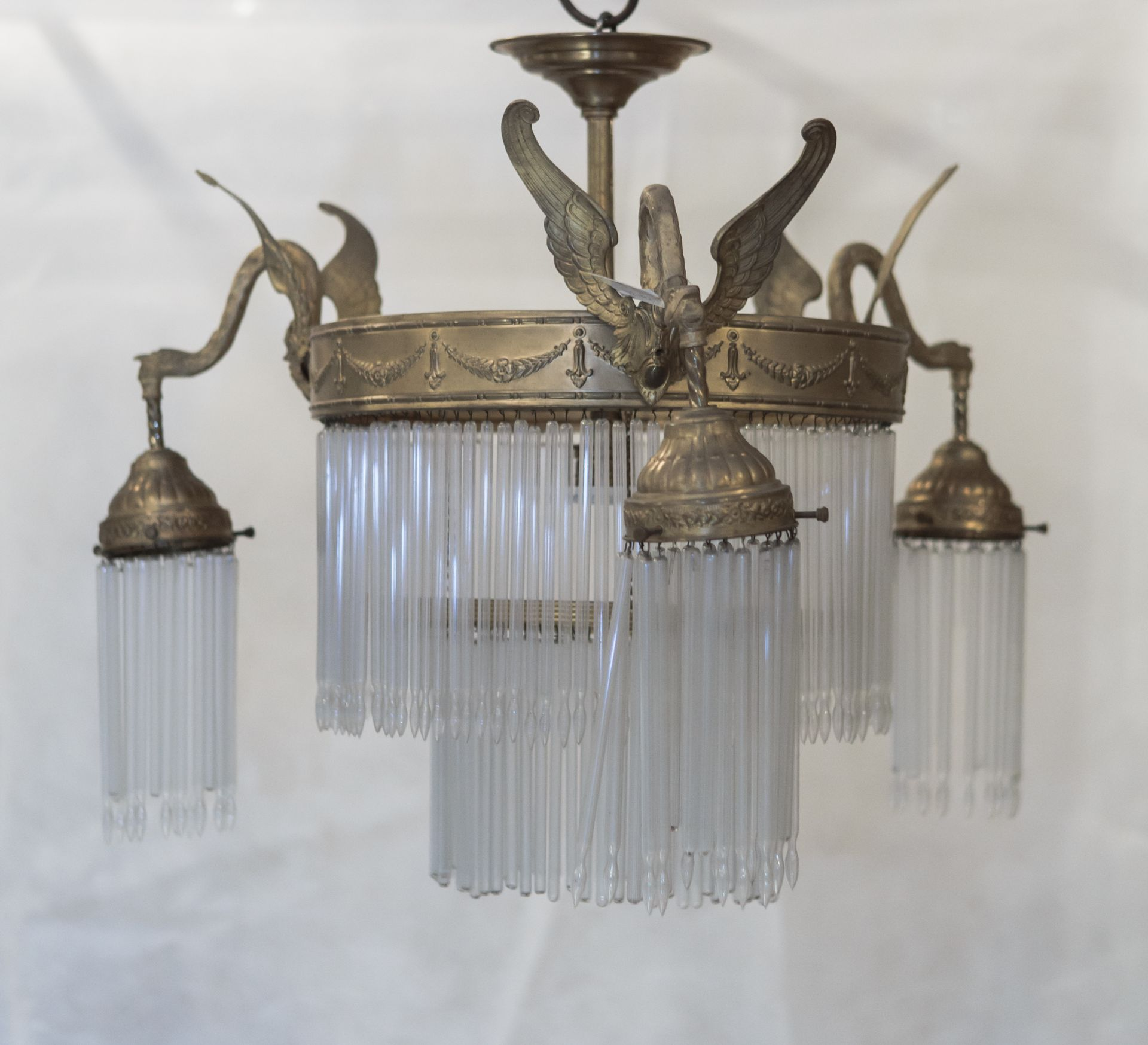 Chandelier, 1900–1911, Lithuanian National Museum of Art, TM-316. Photo by Tomas Kapočius, 2017