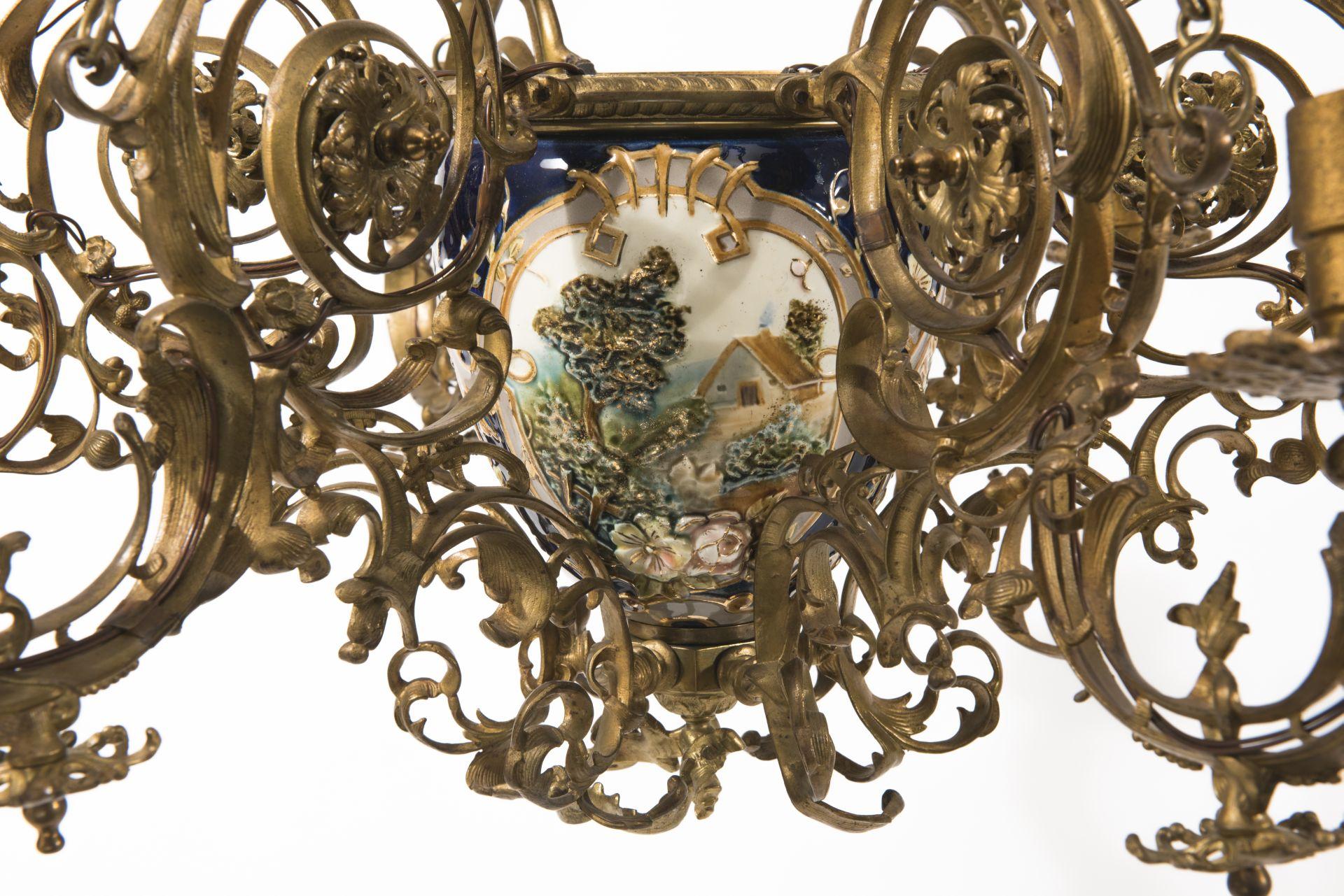 Fragment of chandelier, 1887–1919, National Museum of Lithuania, KR-73. Photo by Kęstutis Stoškus, 2017