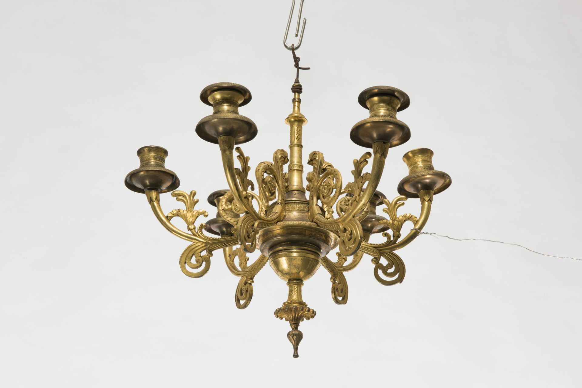 Chandelier, 1800–1849, National Museum of Lithuania, IM-4616. Photo by Kęstutis Stoškus, 2017