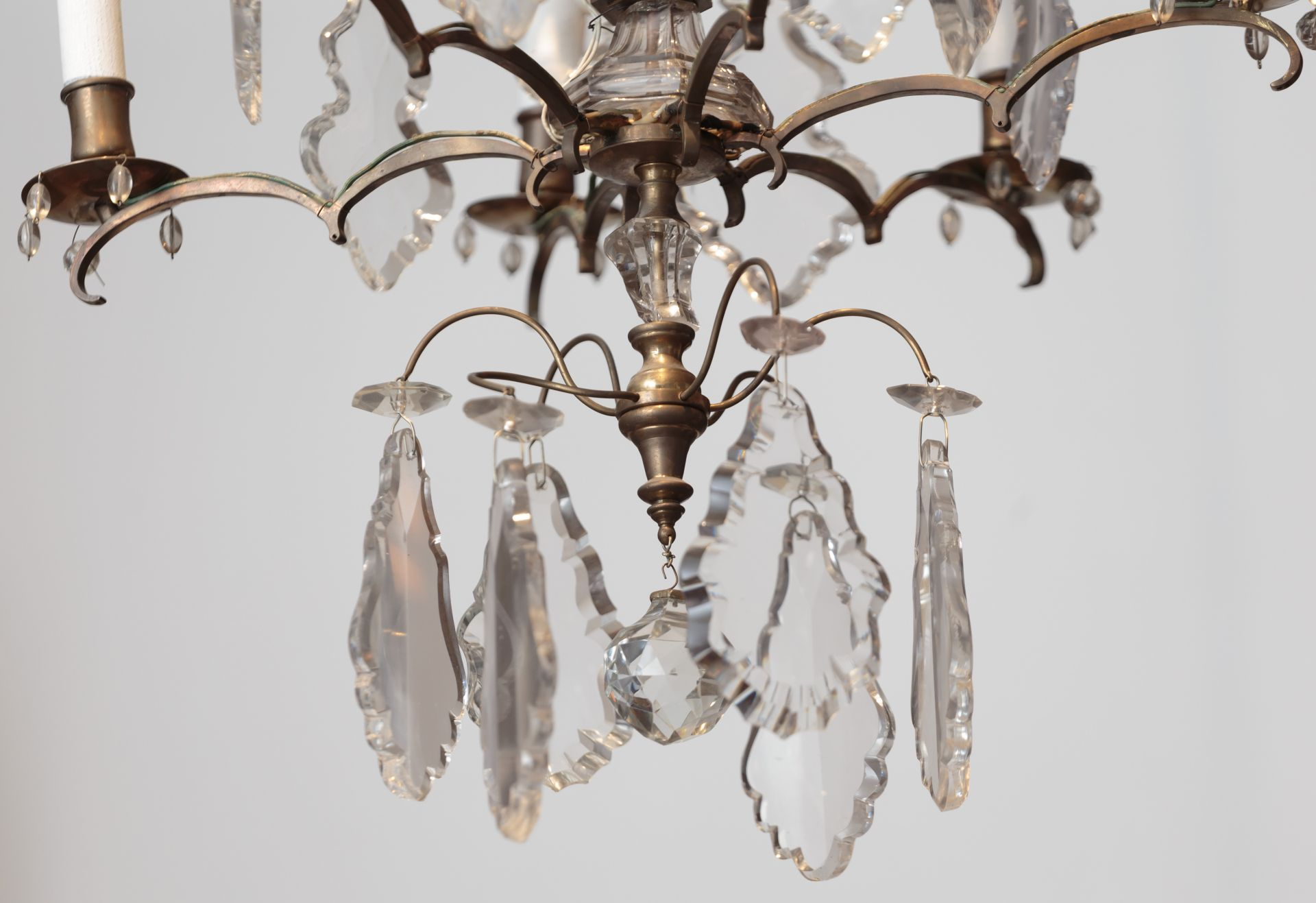 Fragment of chandelier, 1887–1911, Lithuanian National Museum of Art, TM-840. Photo by Tomas Kapočius, 2017