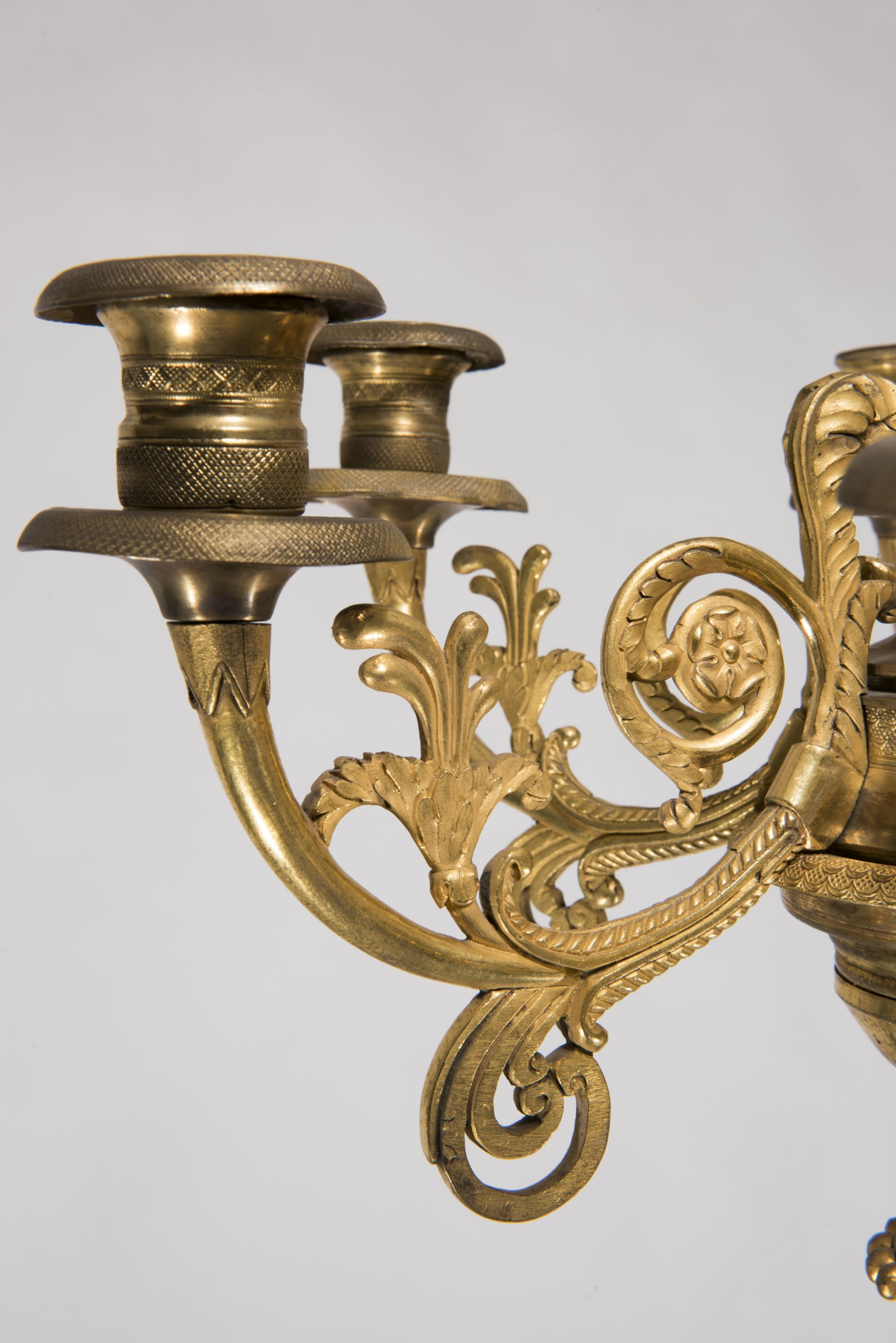Fragment of chandelier, 1800–1849, National Museum of Lithuania, IM-4616. Photo by Kęstutis Stoškus, 2017