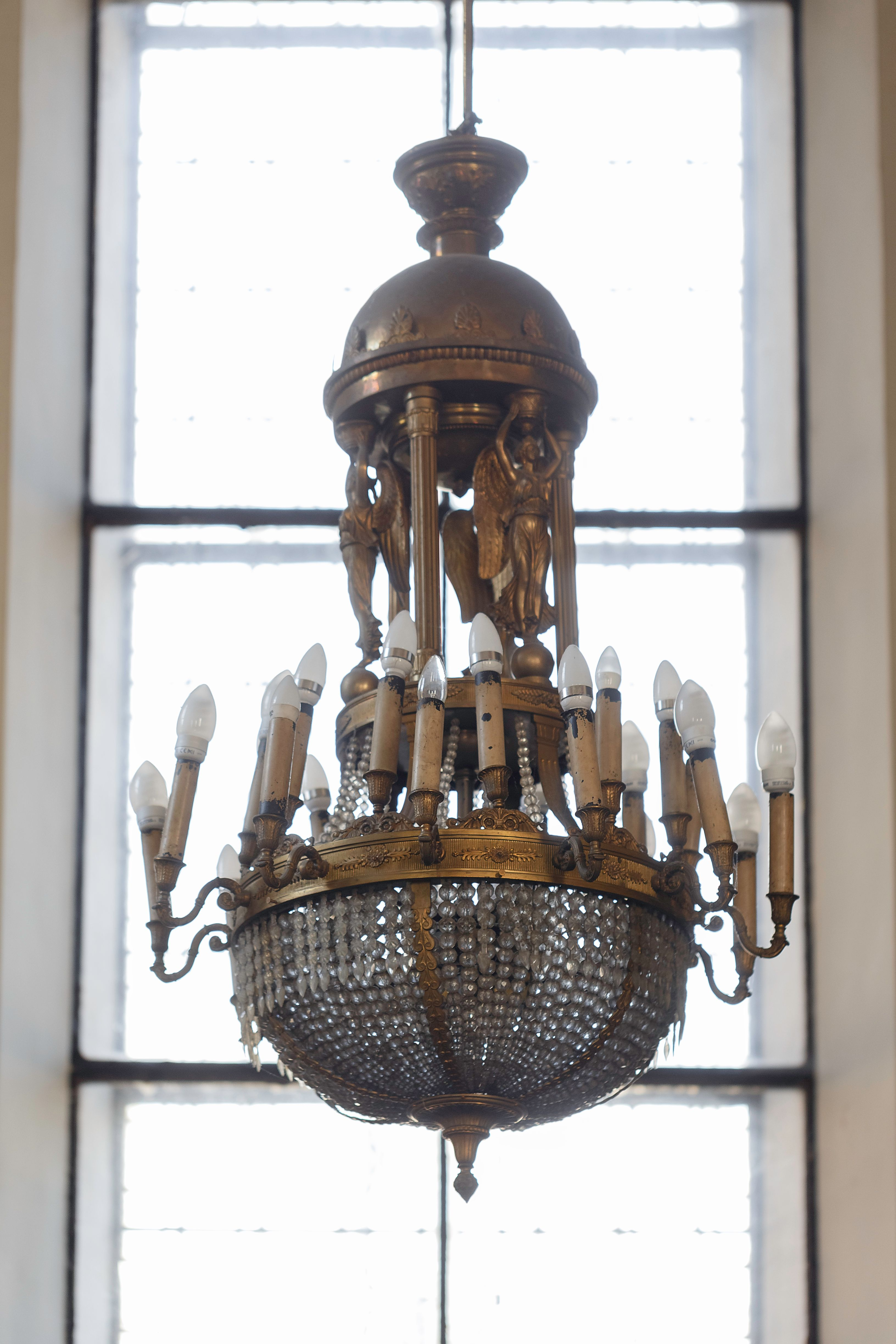 Chandelier, 1925, the church of the Assumption of the Blessed Virgin Mary (Vytautas the Great) in Kaunas. Photo by Povilas Jarmala, 2019