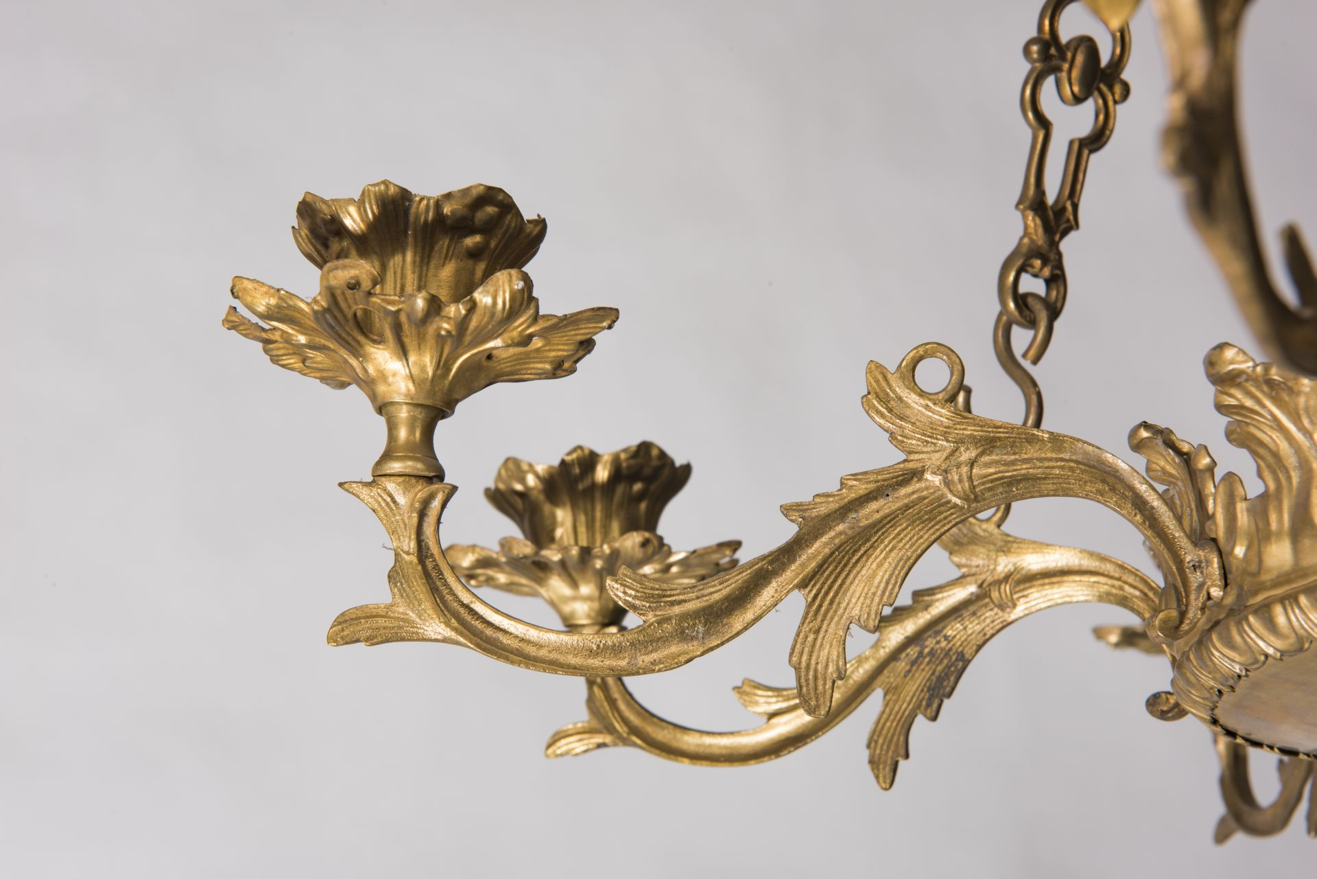 Fragment of chandelier, 1887–1912, National Museum of Lithuania, IM-5101. Photo by Kęstutis Stoškus, 2017