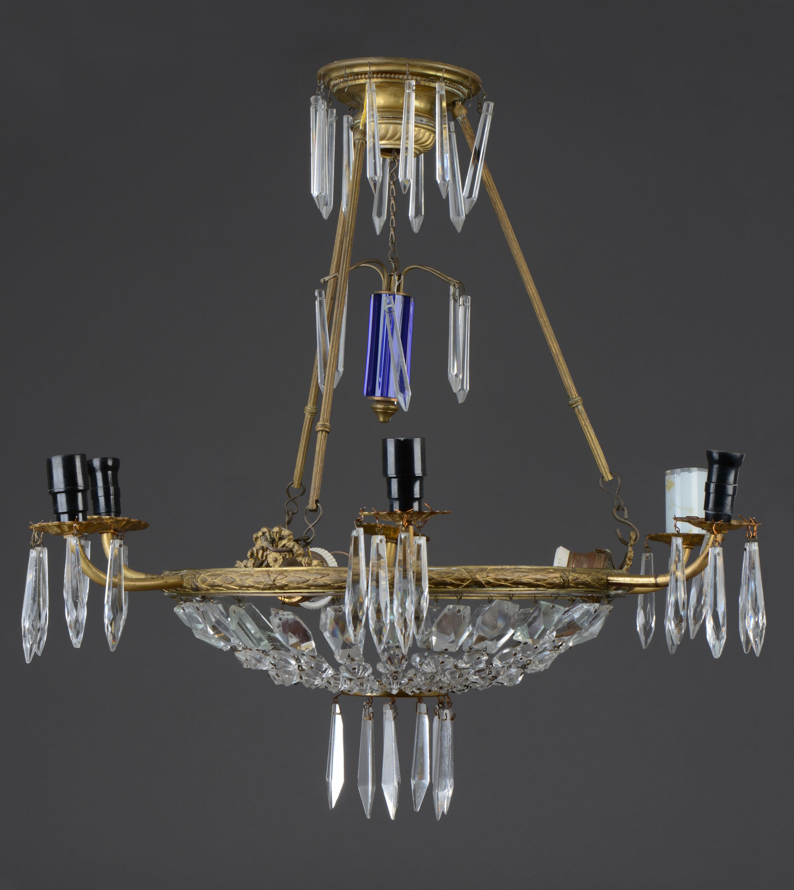 Chandelier, 1837–1899, Trakai history museum, GEK-5696. Photo by Andrius Valužis, 2017