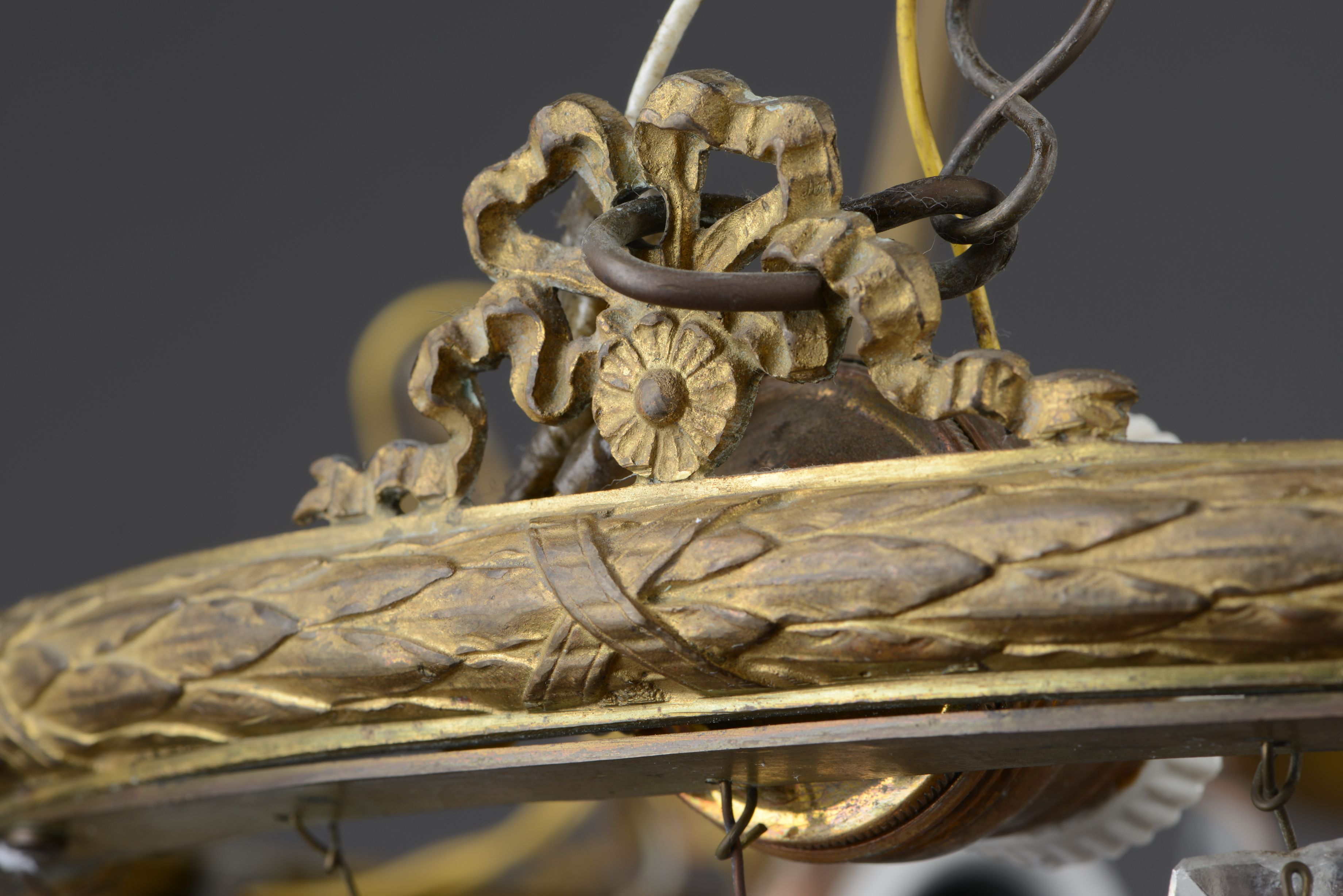 Fragment of chandelier, 1837–1899, Trakai history museum, GEK-5696. Photo by Andrius Valužis, 2017