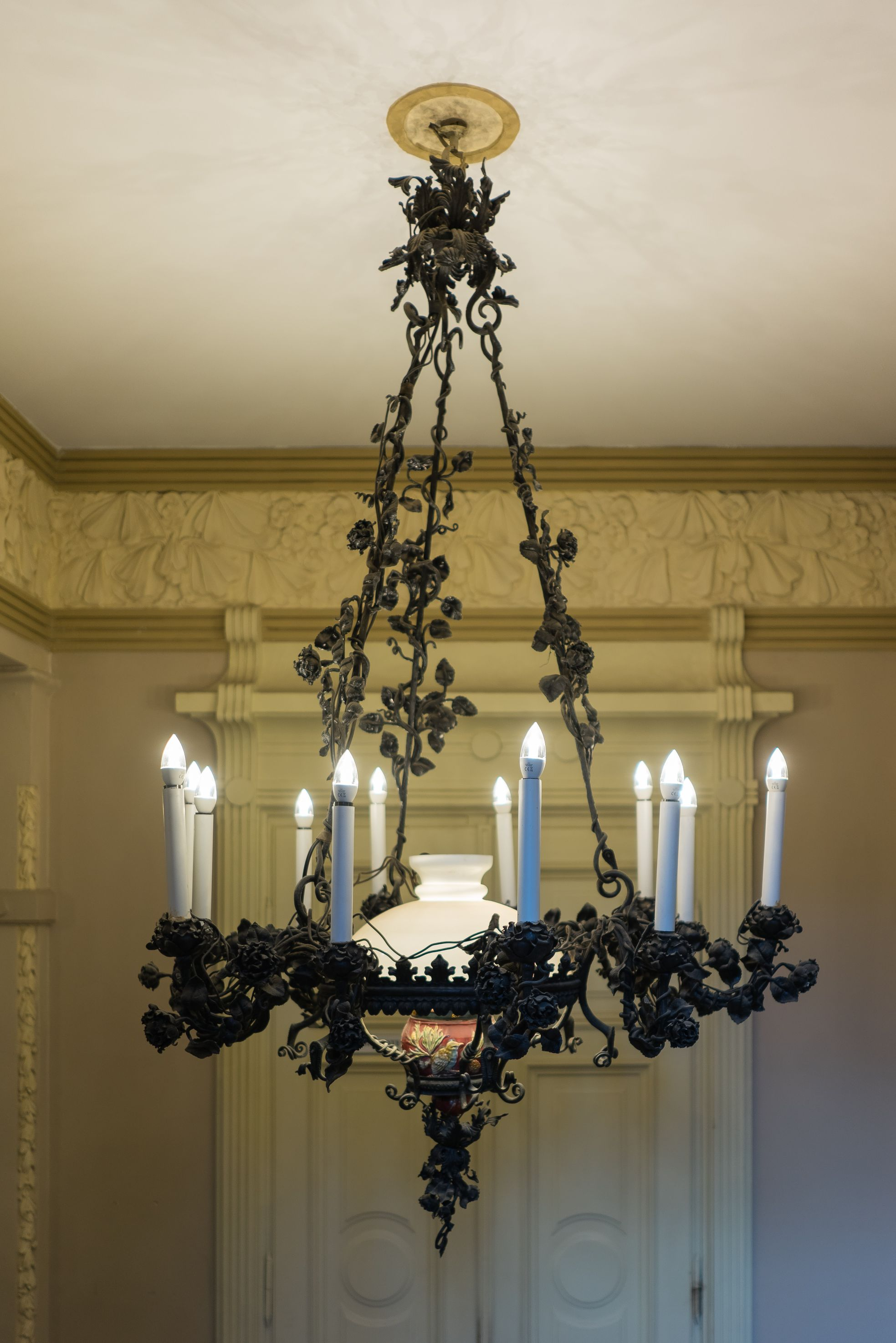 Chandelier, 1904–1905, P. Vileišis Palace. Photo by Povilas Jarmala, 2017