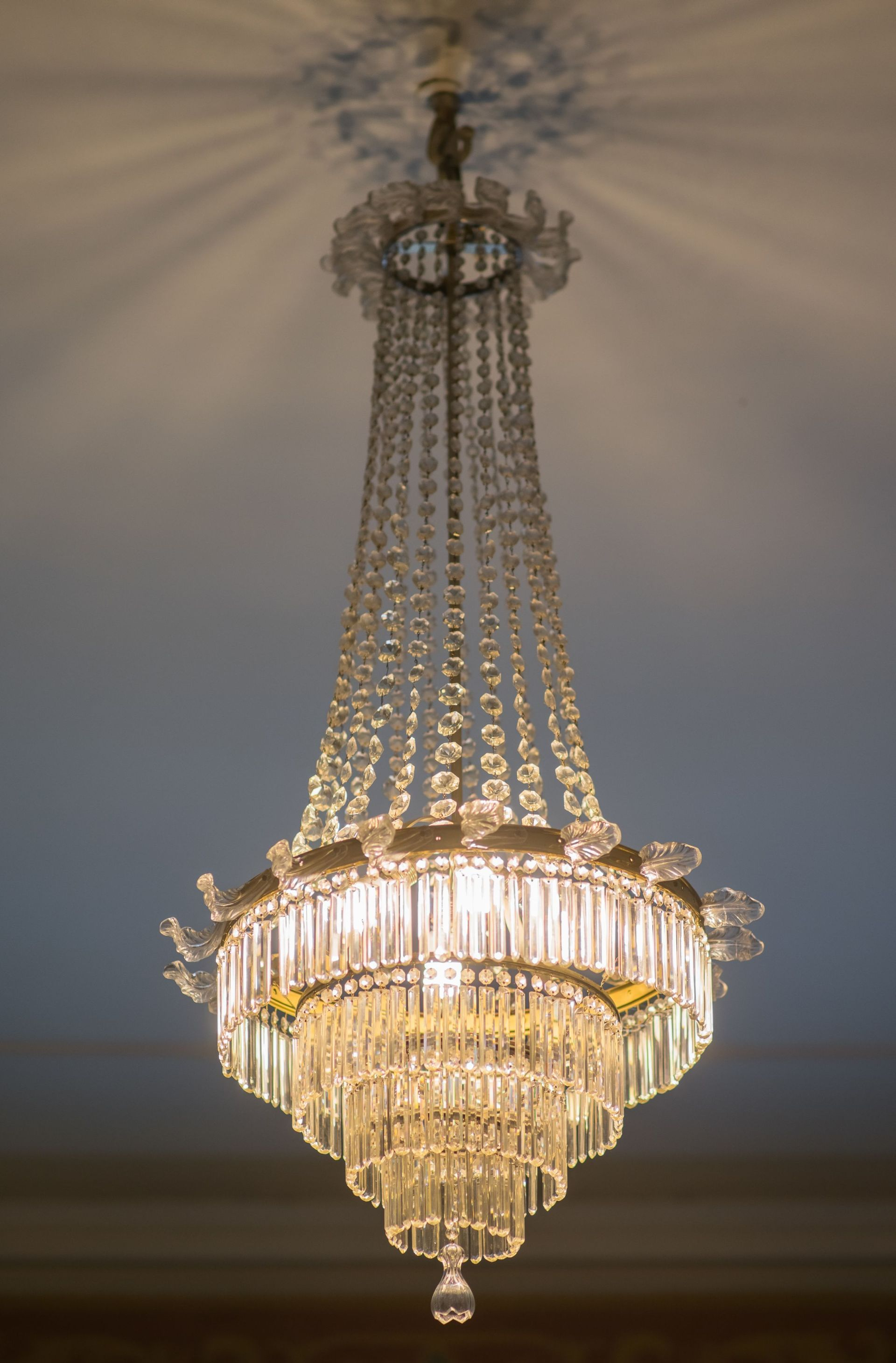 Chandelier, 1910–1929, Archdiocese of Vilnius. Photo by Povilas Jarmala, 2017