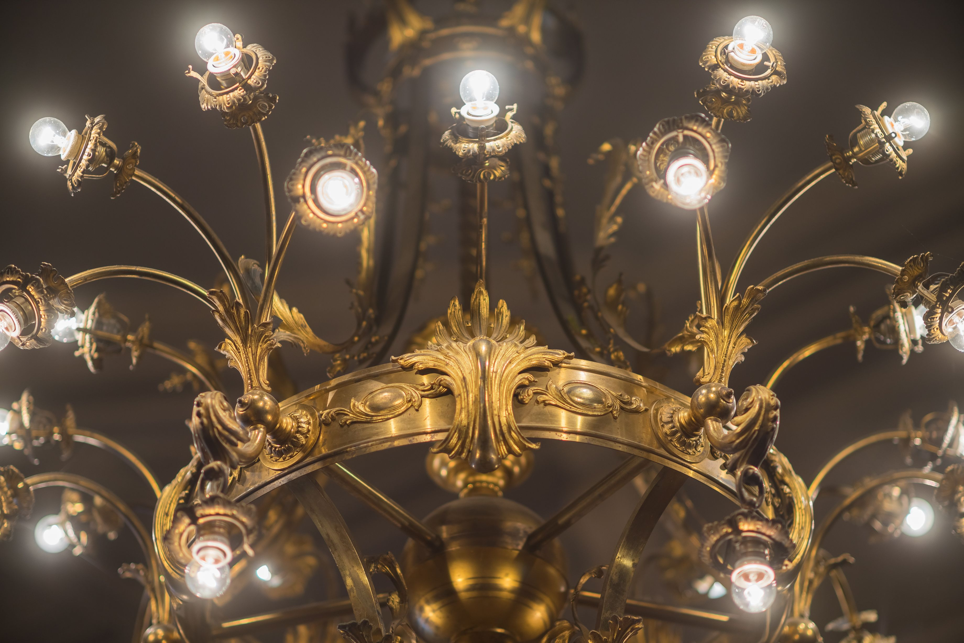 Fragment of chandelier, 1900–1929, Verkiai Palace. Photo by Povilas Jarmala, 2017
